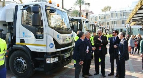 Murcia limpiará imbornales y red saneamiento 12 nuevos vehículos