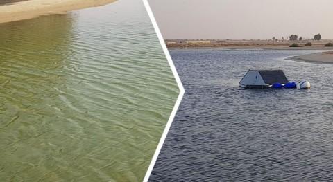 LG Sonic soluciona crecimiento excesivo algas embalse riego Dubai