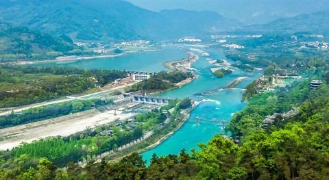 Dujiangyan, sistema riego más antiguo mundo