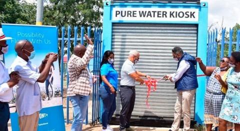 DuPont Water Solutions colabora proveer agua potable sostenible escuela sudafricana
