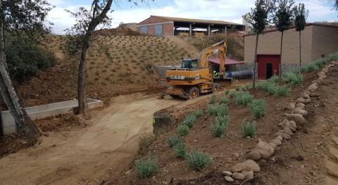 Finalizada modernización regadíos Comunidad Regantes Partida Fenollet