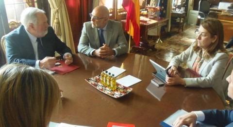 Reunión Extremadura analizar proyectos regadío región