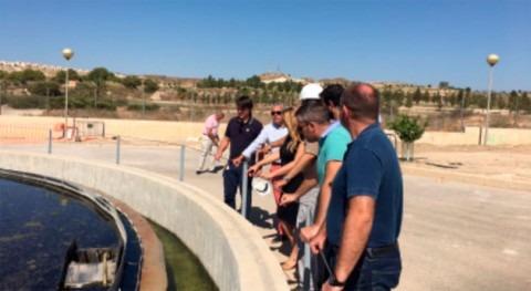 Murcia invierte 775.000 euros mejora depuradora Camposol Mazarrón