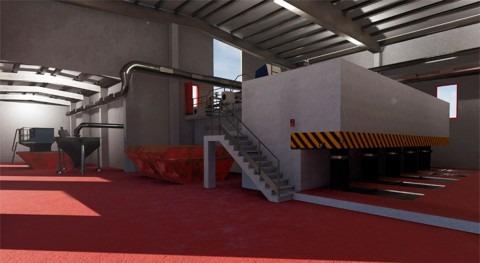 nuevo modelo virtual 3D mejorará gestión y seguridad operaciones EDAR