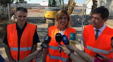 Continúan obras mejora depuradora Figueres