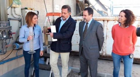 sistema depuración agua mediante microalgas planta Lorca, reconocido Europa