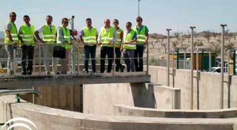 Gobierno andaluz impulsa finalización obras EDAR Uleila Campo