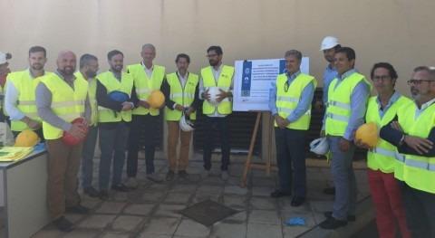 presidente Cabildo Tenerife visita obras Desodorización Orotava