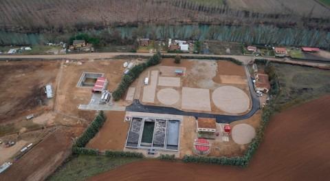 CHD entrega al Ayuntamiento Venta Baños, Palencia, obras mejora EDAR