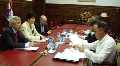 Reunión de la comisión de seguimiento de las obras de la EDAR de Soria