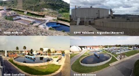 FACSA avala huella carbono EDAR Castellón, Almassora, Navarra y Andorra