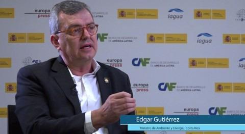 """Edgar Gutiérrez: """"Queremos mayor participación ciudadanos gestión agua"""""""