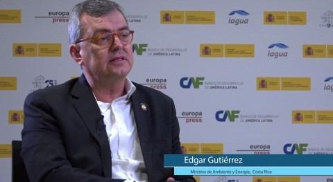 """Edgar Gutiérrez: """" saneamiento es desafíos más grandes Costa Rica"""""""