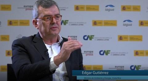 """Edgar Gutiérrez: """"Algunos problemas hídricos nuestro país son mismos que otros países"""""""