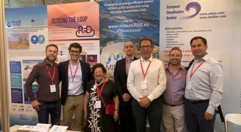 proyecto MIDES, conferencia European Desalination Society