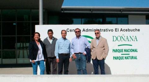 delegación Estados Unidos visita Doñana conocer temas relacionados gestión