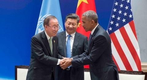 Momento histórico: EEUU y China ratifican Acuerdo clima París