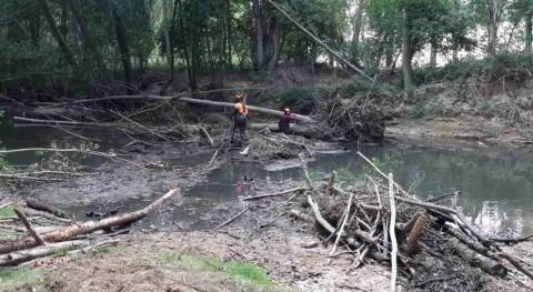 CHE inicia trabajos adecuación río Ega provincias Álava y Navarra