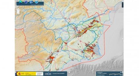 CHS pone disposición público cartografía zonas inundables través web