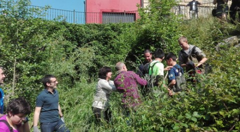 153 estudiantes recogen residuos ríos Iurreta Día Mundial Biodiversidad