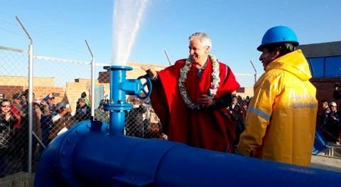 nuevo sistema agua potable beneficia 130.000 habitantes Alto, Bolivia
