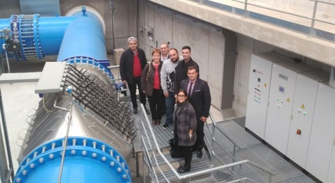 Ayuntamiento Puig Santamaría visita instalaciones Grupo Aguas Valencia