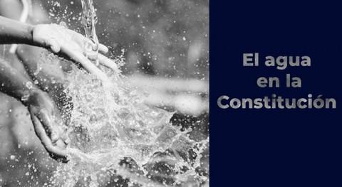 agua Constitución México