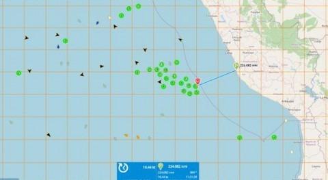 Embarcaciones chinas depredan calamares gigantes costas sudamericanas