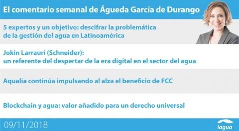 XXI Foro iAgua Magazine y resultados FCC, lo mejor semana iAgua
