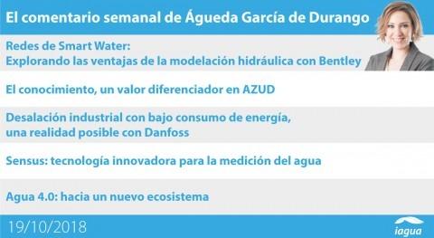 innovación relacionada Smart Water ocupa lo mejor semana iAgua