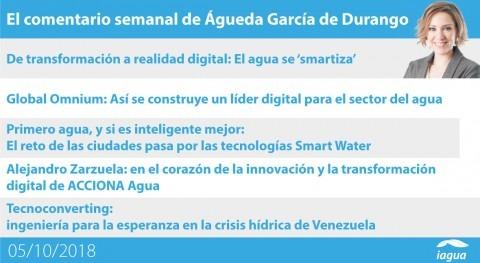 TecnoConverting Venezuela y entrevista Vicente Fajardo, lo mejor semana iAgua