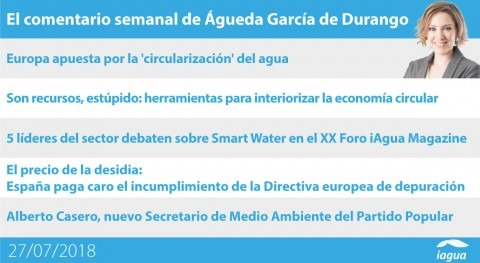 XX Foro iAgua Magazine y multa España falta depuración, lo mejor semana iAgua