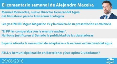 Magazine Economía Circular y Manuel Menéndez como nuevo DGA, lo mejor semana