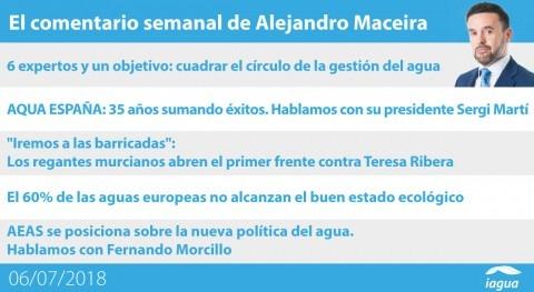 expertos economía circular y polémica Tajo-Segura, lo mejor semana iAgua