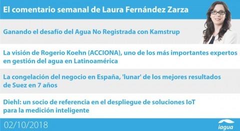 desafío Agua No Registrada y resultados Suez, lo mejor semana iAgua
