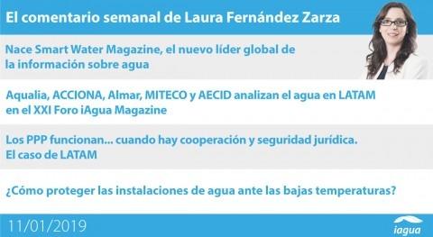 nacimiento Smart Water Magazine y XXI Foro iAgua Magazine, lo mejor semana