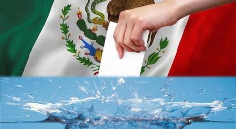 Elecciones México 2021, y agenda agua