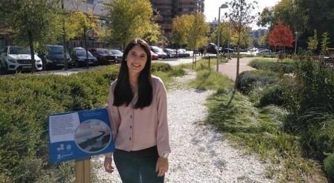 """Elena Calcerrada: """" desconocimiento SUDS es principal barrera implementación"""""""