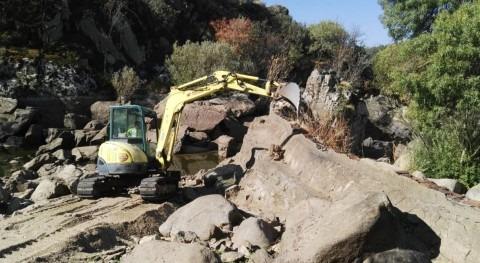 Comienza demolición tres azudes Salamanca marco proyecto LIFE+ Cipriber