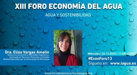 """Elisa Vargas-Amelín: """" Directiva Marco Agua es pilar fundamental política UE"""""""