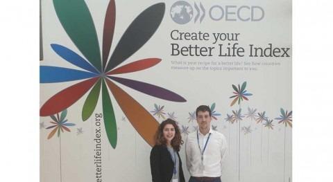 Cátedra Aquae y OCDE becan dos jóvenes españoles dar soporte gobernanza agua