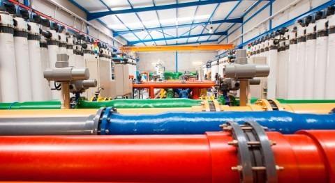 planta piloto ELMASA, banco pruebas reducción productos químicos desalación