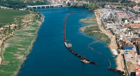 Gobierno retoma trabajos descontaminación embalse Flix, Tarragona