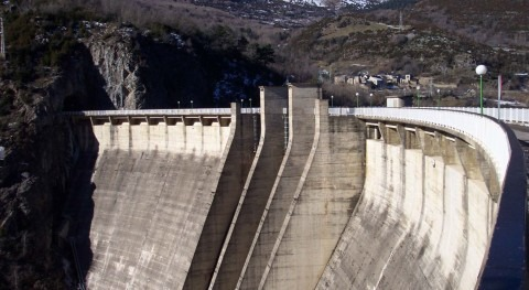 CHE adjudica impermeabilización y drenaje estribo derecho presa Búbal, Huesca
