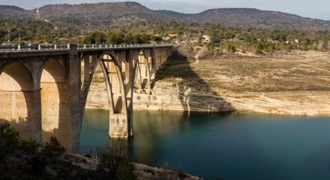 reserva hídrica española se encuentra al 51% capacidad