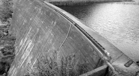 Minas agua Tauro: Aguas abajo presas Tauro Alto #GranCanaria