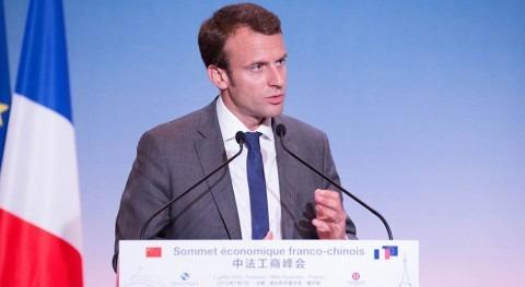 candidato presidencial francés critica políticas medioambientales Trump