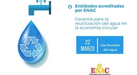 entidades acreditadas ENAC garantía reutilización agua economía circular