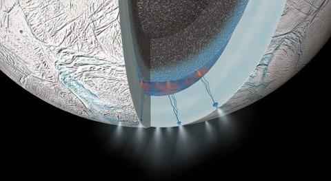 ¿Hay vida detrás fuentes hidrotermales Encélado?