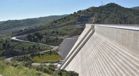 recientes tormentas impulsan puesta carga embalse Enciso, Rioja